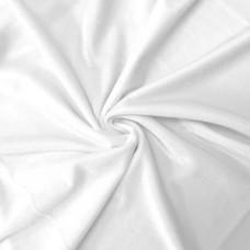 Kadife Kumaş Beyaz
