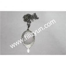 Kanaviçe Kolye Gümüş No 12