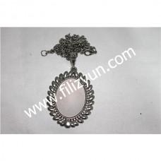 Kanaviçe Kolye Gümüş No 14