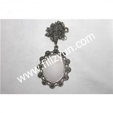 Kanaviçe Kolye Gümüş No 17