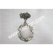 Kanaviçe Kolye Gümüş No 20