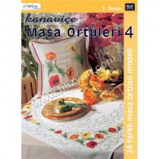 Kanaviçe Masa Örtüleri Kitabı 4